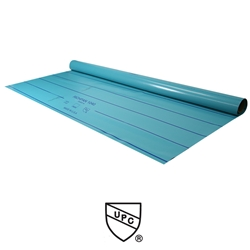 Rich Pan PVC Shower Pan Liner 6' Wide - Waterproofing