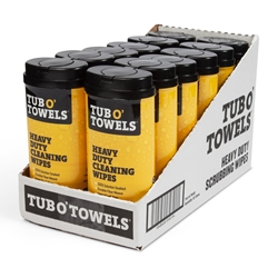 Tub O' Towels 40 ct Dispenser (12 Pack)