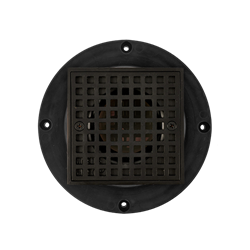 FreeStyle Thin-Bed Drain - Flat Black - ABS